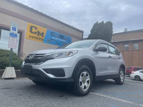 2016 Honda CR-V for sale at Car Mart Auto Center II, LLC in Allentown PA