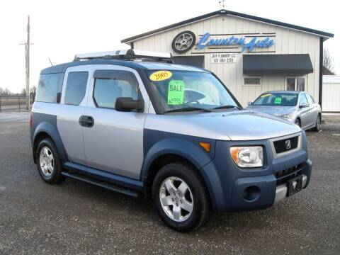 2005 Honda Element for sale at Country Auto in Huntsville OH