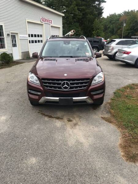 2014 Mercedes-Benz M-Class AWD ML 350 BlueTEC 4MATIC 4dr SUV - Brentwood NH