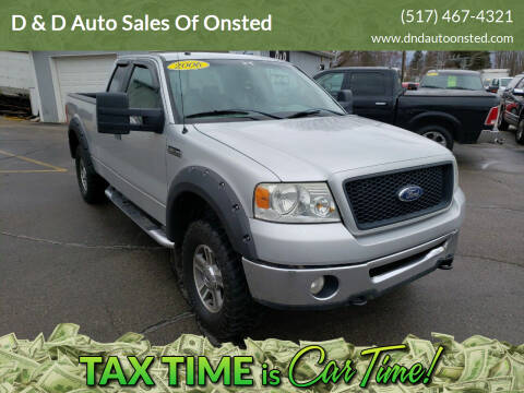 2006 Ford F-150 for sale at D & D Auto Sales Of Onsted in Onsted   Brooklyn MI