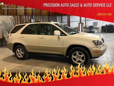 2000 Lexus RX 300 for sale at Precision Auto Sales & Auto Service LLC in Sevierville TN