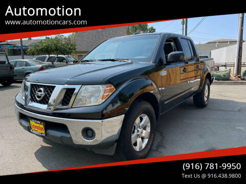 2011 Nissan Frontier for sale at Automotion in Roseville CA