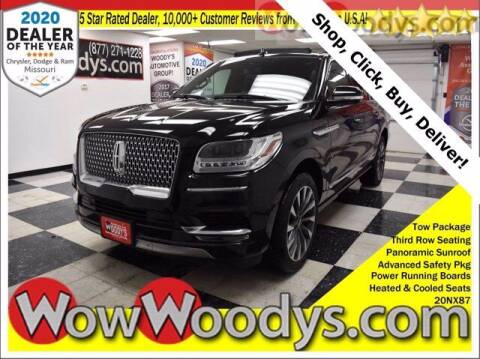 2020 Lincoln Navigator L for sale at WOODY'S AUTOMOTIVE GROUP in Chillicothe MO
