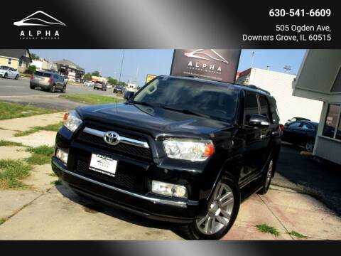 2013 Toyota 4Runner for sale at Alpha Luxury Motors in Downers Grove IL