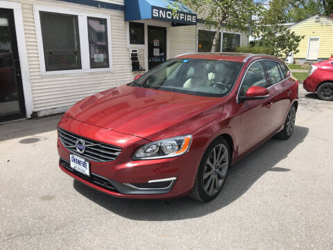 2015 Volvo V60 for sale at Snowfire Auto in Waterbury VT