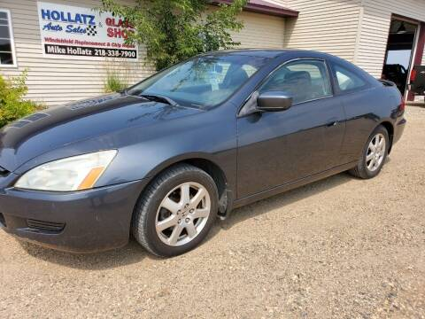 2005 Honda Accord for sale at Hollatz Auto Sales in Parkers Prairie MN