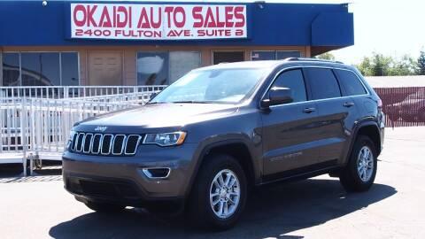 2019 Jeep Grand Cherokee for sale at Okaidi Auto Sales in Sacramento CA