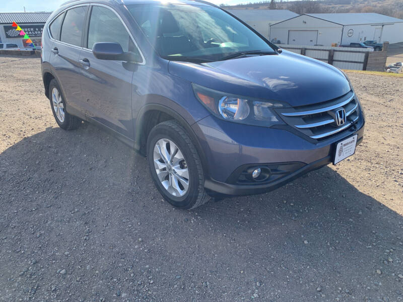 2013 Honda CR-V for sale at TRUCK & AUTO SALVAGE in Valley City ND