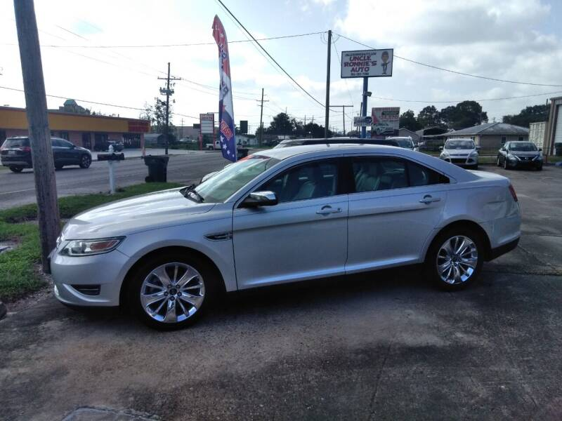 2012 Ford Taurus for sale at Uncle Ronnie's Auto LLC in Houma LA