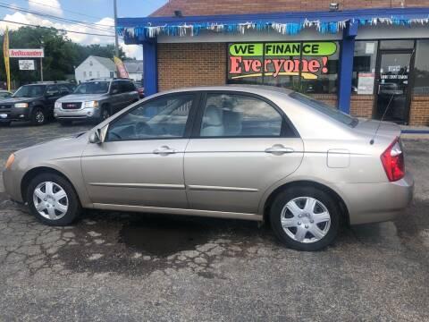 2005 Kia Spectra for sale at Duke Automotive Group in Cincinnati OH