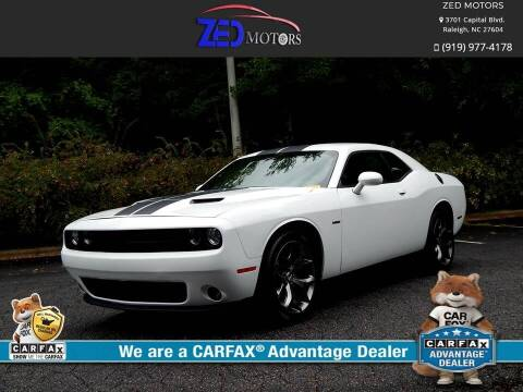 2018 Dodge Challenger for sale at Zed Motors in Raleigh NC