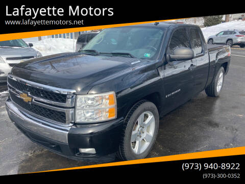 2007 Chevrolet Silverado 1500 for sale at Lafayette Motors in Lafayette NJ
