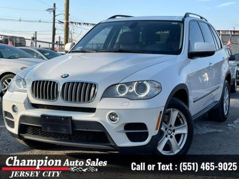 2012 BMW X5 for sale at CHAMPION AUTO SALES OF JERSEY CITY in Jersey City NJ