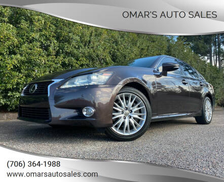 2013 Lexus GS 350 for sale at Omar's Auto Sales in Martinez GA