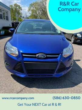 2014 Ford Focus for sale at R&R Car Company in Mount Clemens MI