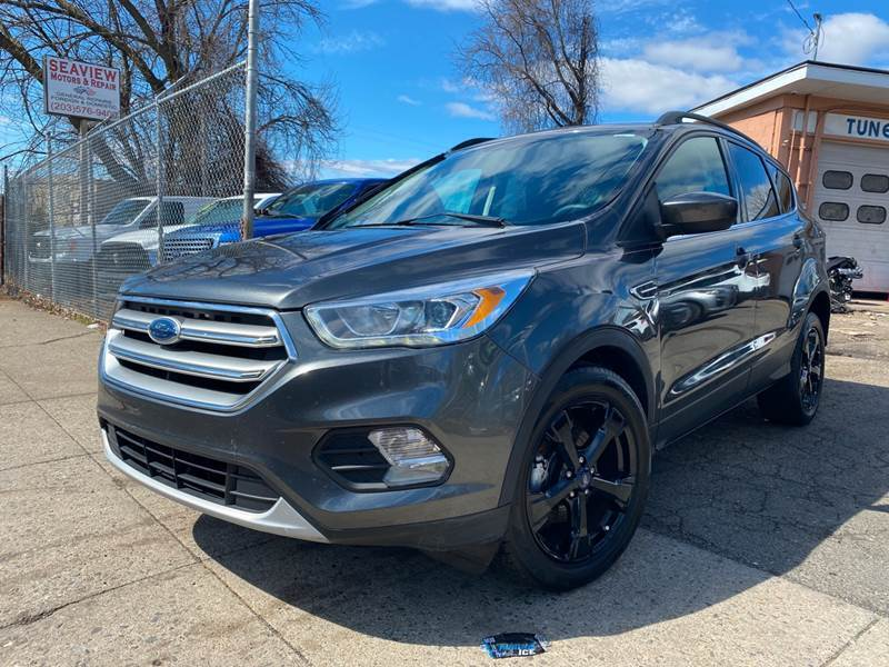 2017 Ford Escape for sale at Seaview Motors and Repair LLC in Bridgeport CT