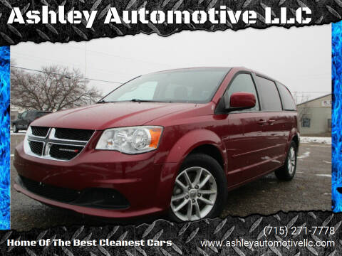 2014 Dodge Grand Caravan for sale at Ashley Automotive LLC in Altoona WI