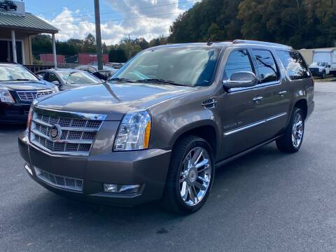 2012 Cadillac Escalade ESV for sale at Luxury Auto Innovations in Flowery Branch GA