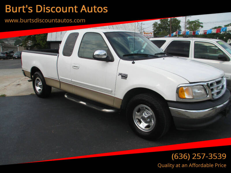 1999 Ford F-150 for sale at Burt's Discount Autos in Pacific MO