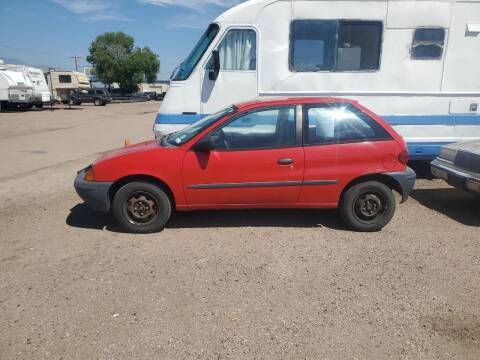 1997 GEO Metro for sale at PYRAMID MOTORS - Fountain Lot in Fountain CO