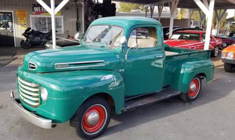 1950 Ford F1 for sale at Vehicle Liquidation in Littlerock CA