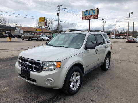 2008 Ford Escape for sale at Neals Auto Sales in Louisville KY