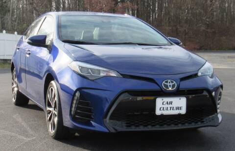 2018 Toyota Corolla for sale at Car Culture in Warren OH