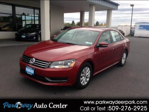 2015 Volkswagen Passat for sale at PARKWAY AUTO CENTER AND RV in Deer Park WA