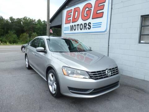 2013 Volkswagen Passat for sale at Edge Motors in Mooresville NC
