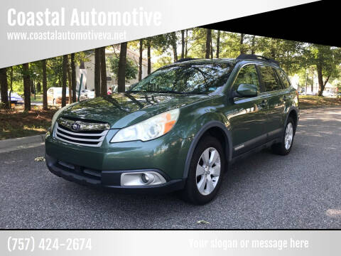 2011 Subaru Outback for sale at Coastal Automotive in Virginia Beach VA