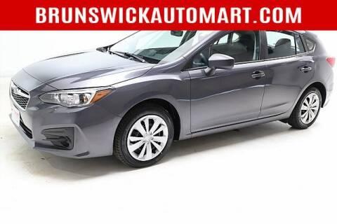 2019 Subaru Impreza for sale at Brunswick Auto Mart in Brunswick OH