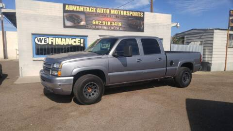 2006 Chevrolet Silverado 2500HD for sale at Advantage Auto Motorsports in Phoenix AZ