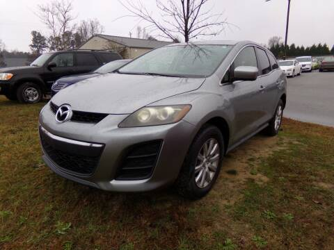 2011 Mazda CX-7 for sale at Creech Auto Sales in Garner NC