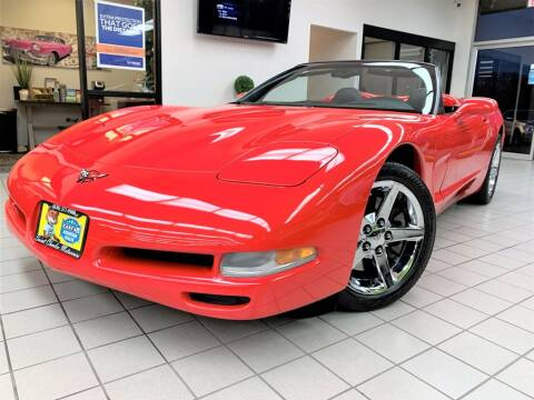 2001 Chevrolet Corvette for sale at SAINT CHARLES MOTORCARS in Saint Charles IL