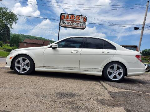 2010 Mercedes-Benz C-Class for sale at BABO'S MOTORS INC in Johnstown PA