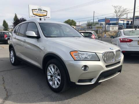 2014 BMW X3 for sale at CarSmart Auto Group in Murray UT