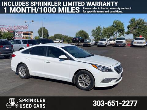 2015 Hyundai Sonata for sale at Sprinkler Used Cars in Longmont CO