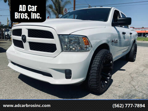 2016 RAM Ram Pickup 1500 for sale at AD Car Bros, Inc. in Whittier CA