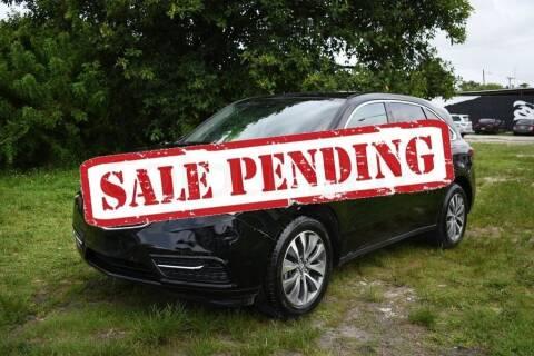 2016 Acura MDX for sale at STS Automotive - Miami, FL in Miami FL