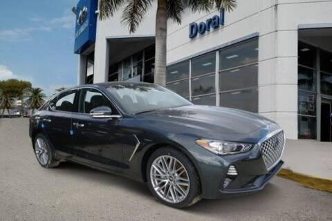 2020 Genesis G70 for sale at DORAL HYUNDAI in Doral FL