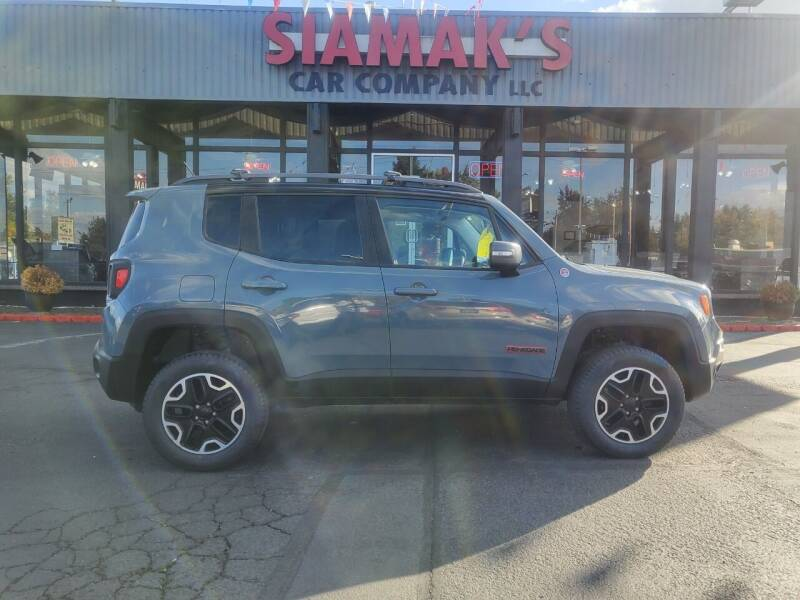 2015 Jeep Renegade for sale at Siamak's Car Company llc in Salem OR