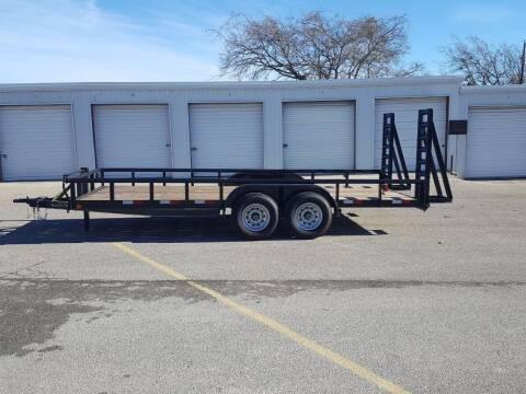 2021 CEN TEX 7 X 18 Heavy Duty Trailer for sale at Longhorn Motors in Belton TX