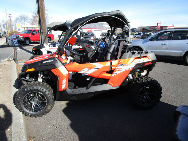 2019 CF Moto Z 800 Trail orange for sale at Power Edge Motorsports- Millers Economy Auto in Redmond OR