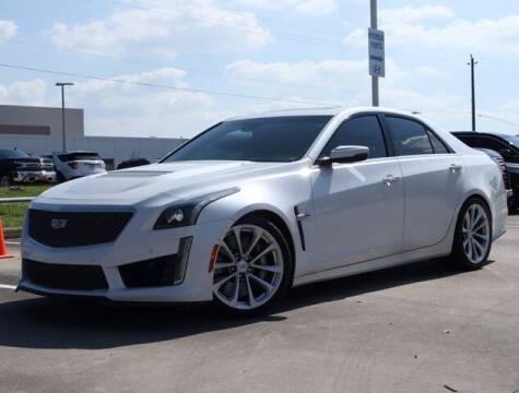 2018 Cadillac CTS-V for sale at BIG STAR HYUNDAI in Houston TX
