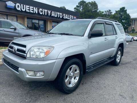 2005 Toyota 4Runner for sale at Queen City Auto Sales in Charlotte NC