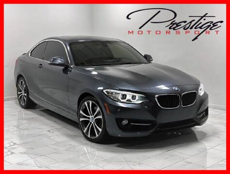 2016 BMW 2 Series for sale at Prestige Motorsport in Rancho Cordova CA