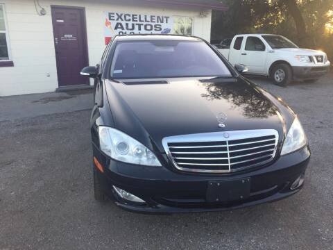 2007 Mercedes-Benz S-Class for sale at Excellent Autos of Orlando in Orlando FL