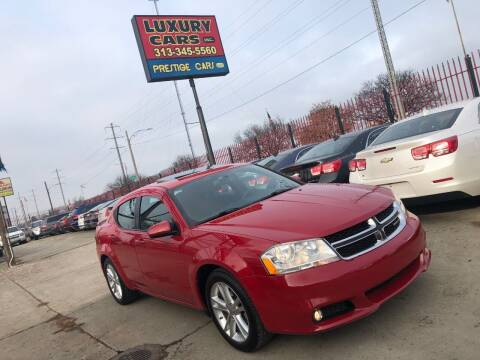 2012 Dodge Avenger for sale at Dymix Used Autos & Luxury Cars Inc in Detroit MI