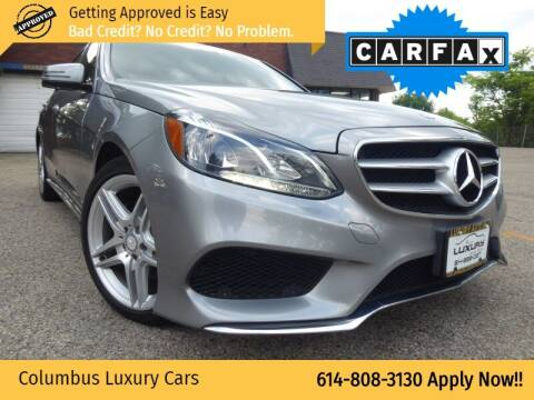 2014 Mercedes-Benz E-Class for sale at Columbus Luxury Cars in Columbus OH