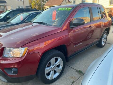 2012 Jeep Compass for sale at GONZALEZ AUTO SALES in Milwaukee WI